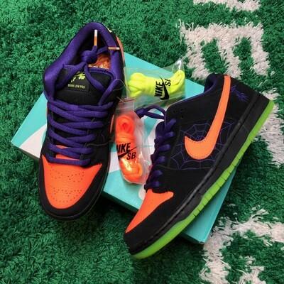 Nike SB Dunk Low Night of Mischief Halloween Size 8