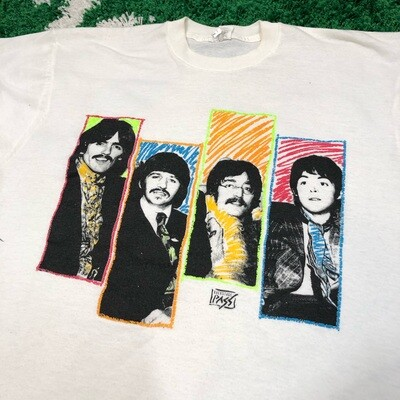 The Beatles Backstage Pass tee Size XL