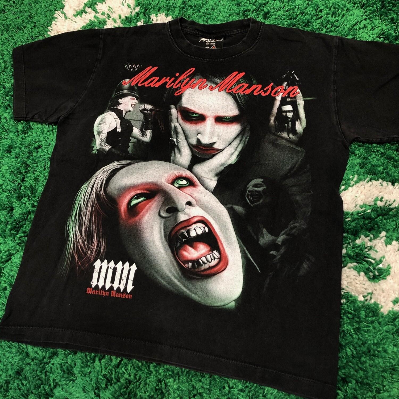 Marilyn Manson Double Sided Tee Size Medium