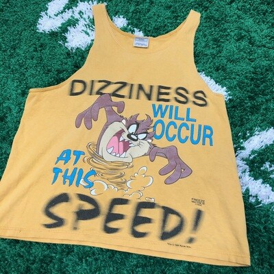 Vintage 1996 Taz tank top Size Medium