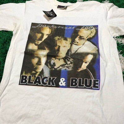 Backstreet Boys Black & Blue 2001 Tour Size Medium