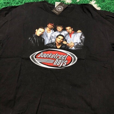 Backstreet Boys Silver Jacket Tee Size XL