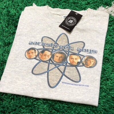Backstreet Boys Atom Tee Grey Size Large