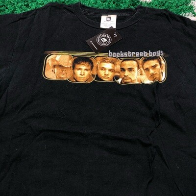 Backstreet Boys Faces Tee Size Large