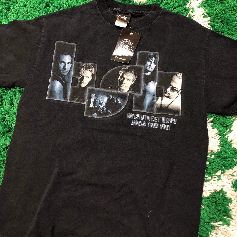 Backstreet Boys World Tour 2001 Size Medium