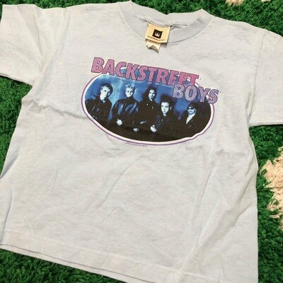 Backstreet Boys Baby Blue Shirt Girls Size Large