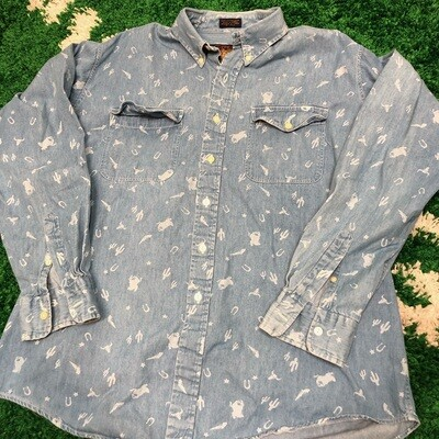 Polo Denim Shirt Size Large