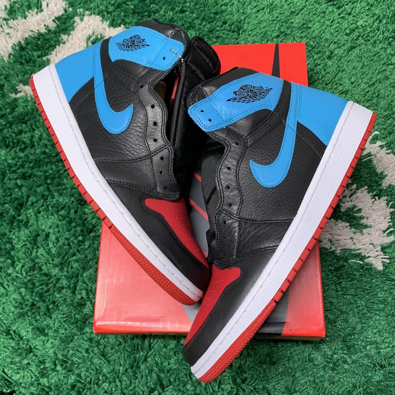 Nike Air Jordan 1 Unc to Chi size 13.5W/12M
