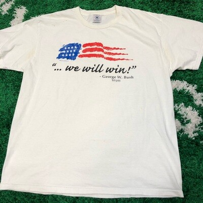 George W. Bush Tee Size Large