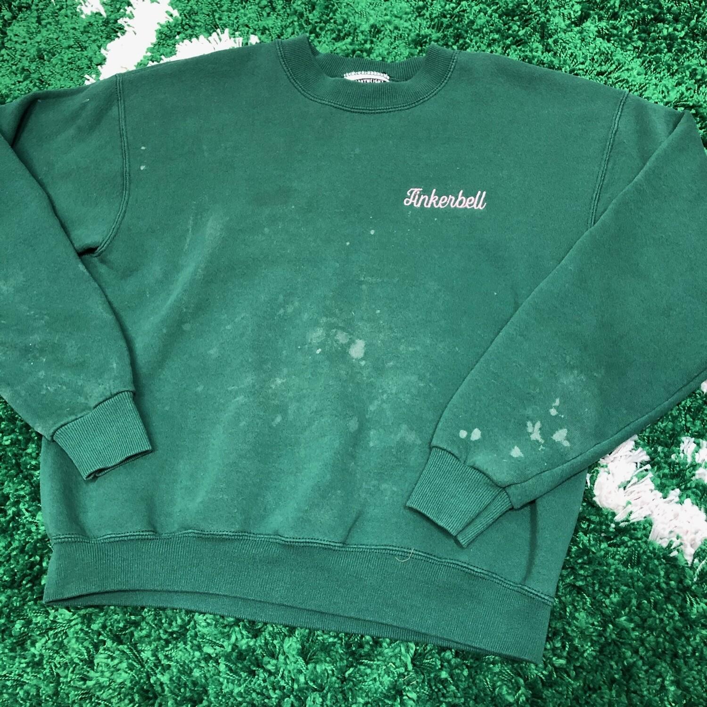 Tinker Bell Sweater Green Size Medium