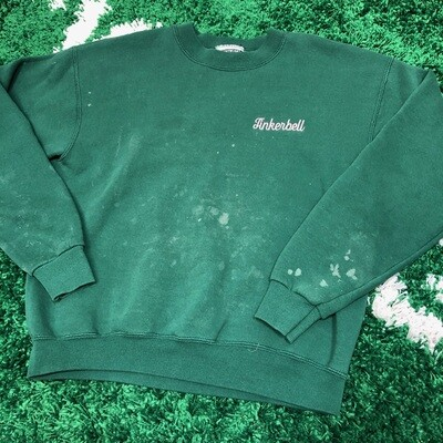Tinker Bell Sweater Green Size Medium