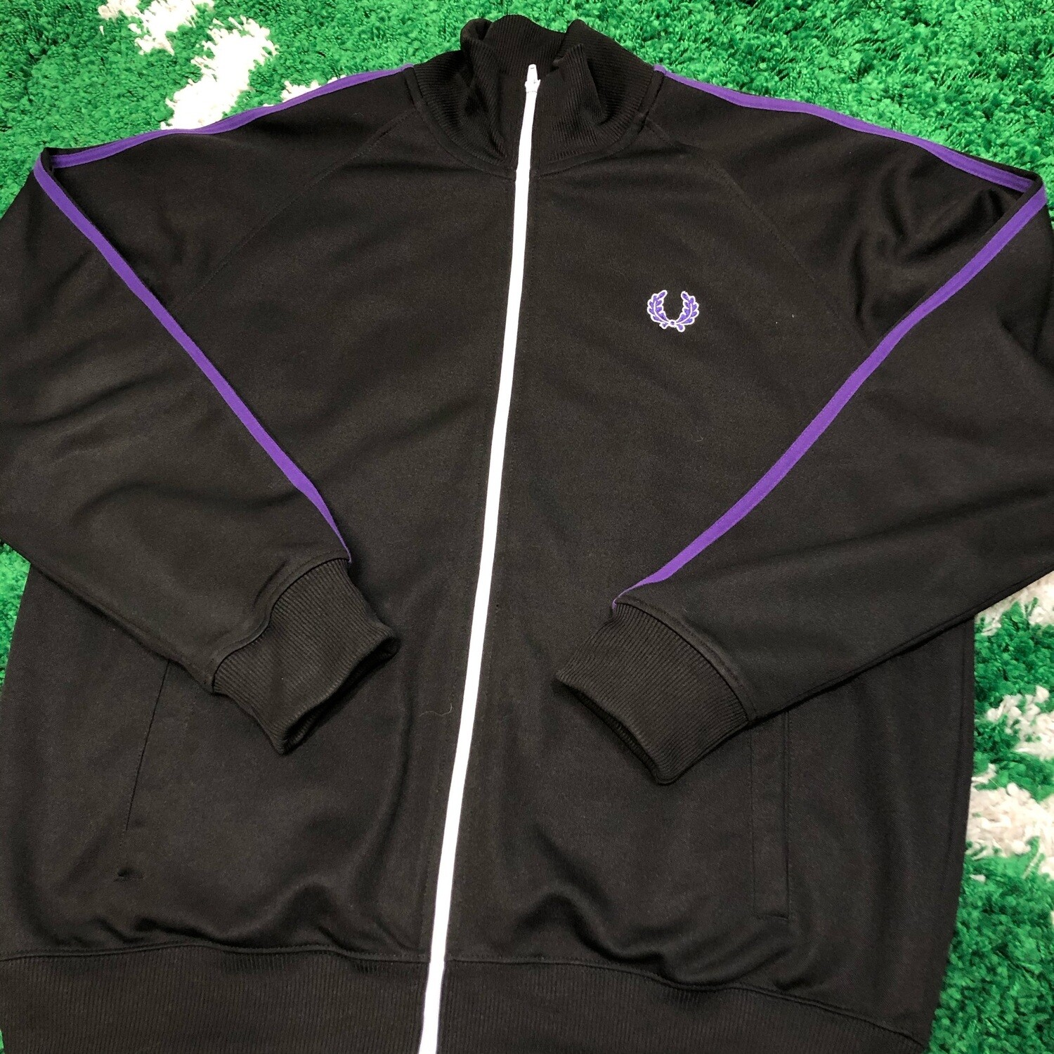 Fred Perry Track Jacket Size Large