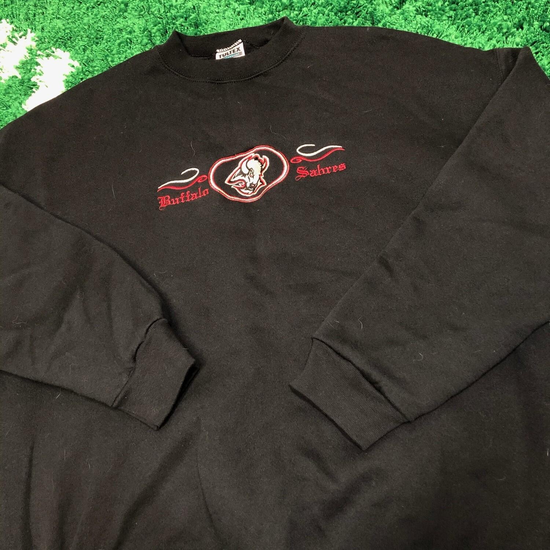 Buffalo Sabres Sweater Black Size XXL