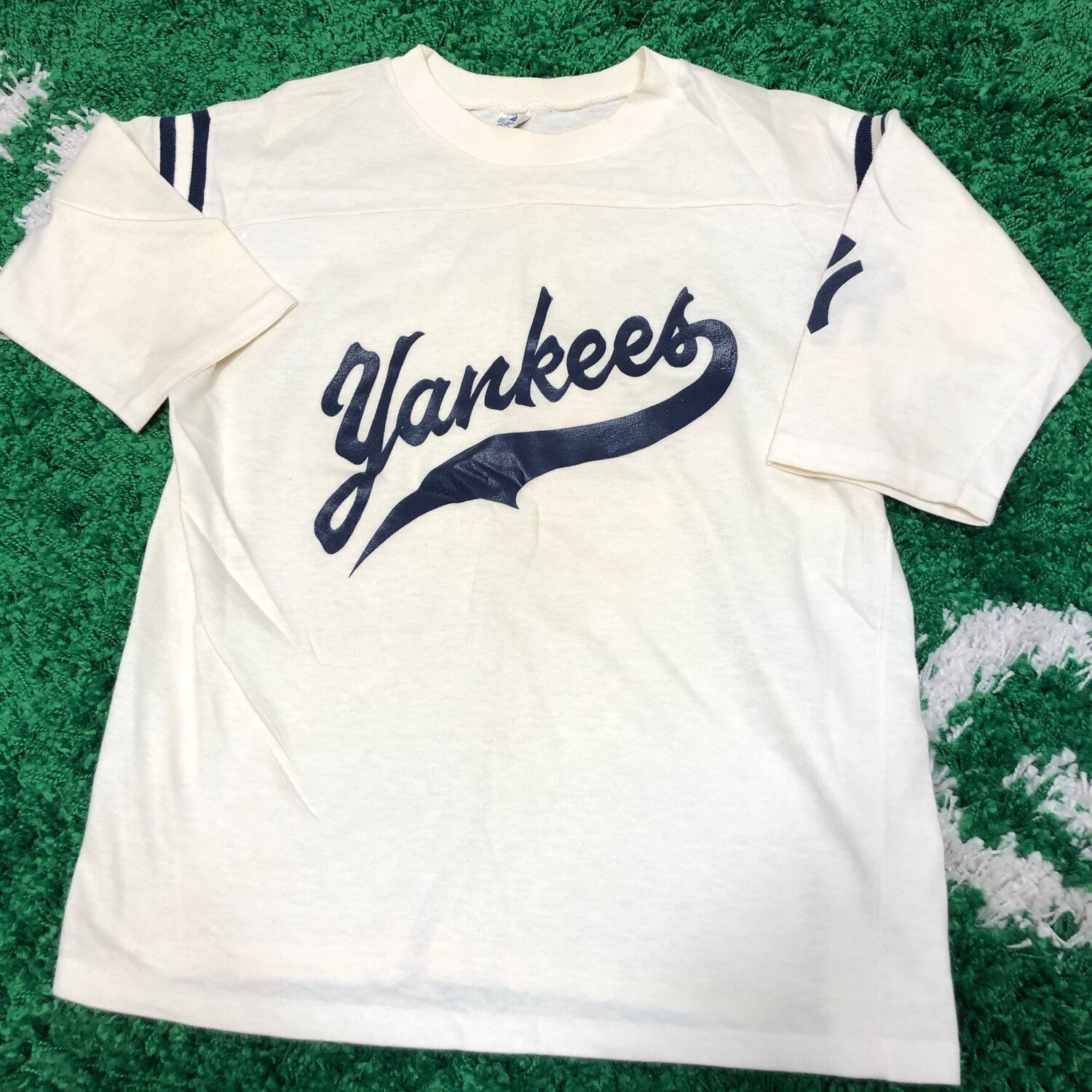 New York Yankees Jersey White Size Small
