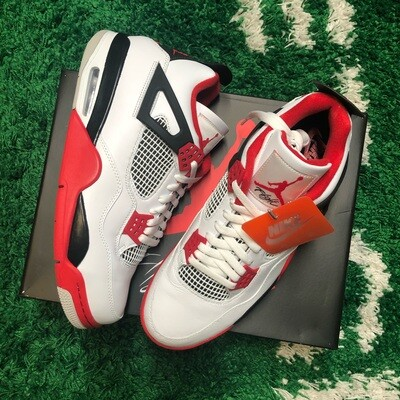 Nike Air Jordan 4 Fire Red Size 13