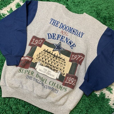 Dallas Cowboys Superbowl Crewneck Size Large