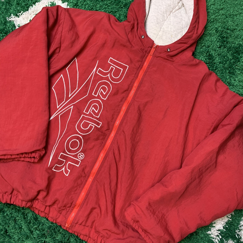 Reebok Jacket Red Size Medium