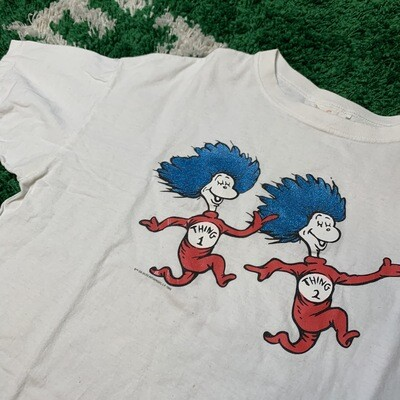 Dr. Seuss Thing 1 & 2 1995 Tee Size Medium