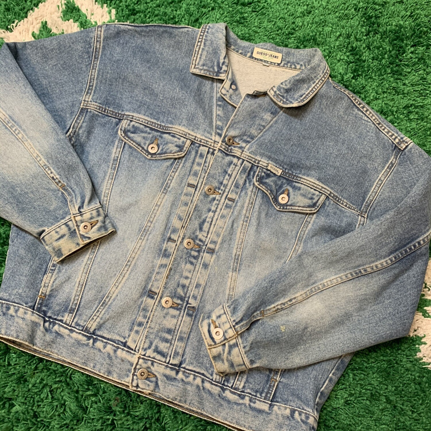 Guess Jeans Jacket Size Large