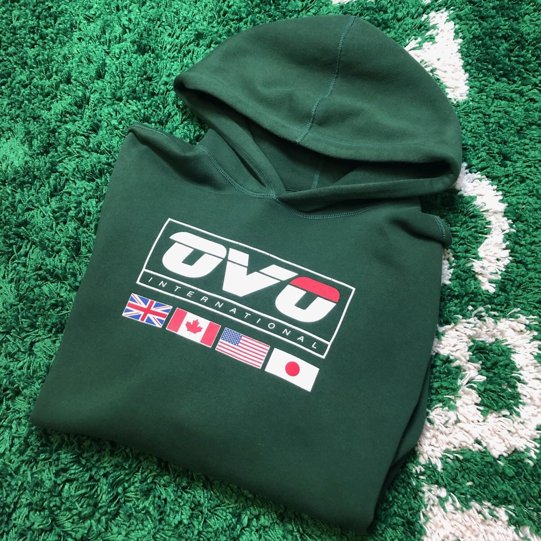 OVO International Forest Green Hoodie Size XXL