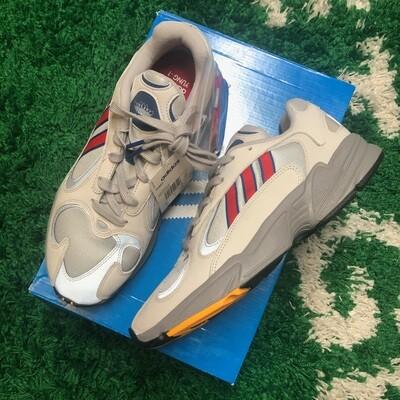 Adidas Yung-1 Grey/Red Size 10