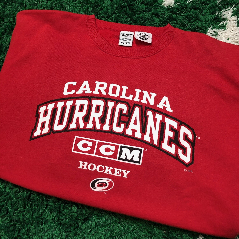 Carolina Hurricanes CCM Sweater Size XXL