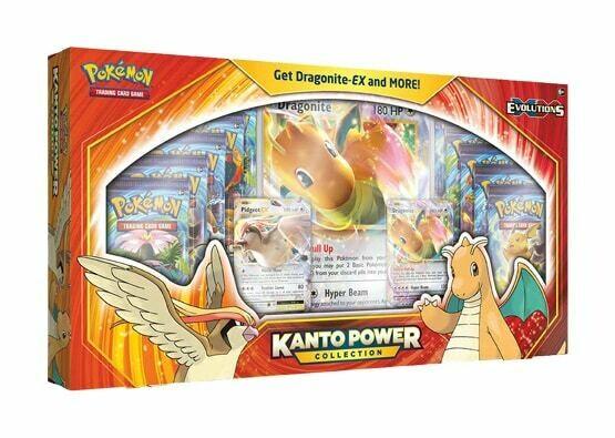 2020 Pokemon TCG XY Evolutions Kanto Power Collection Dragonite-EX