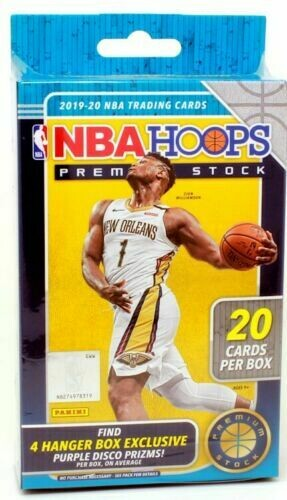 2019-20 Panini NBA Hoops Premium Stock Basketball Hanger Box