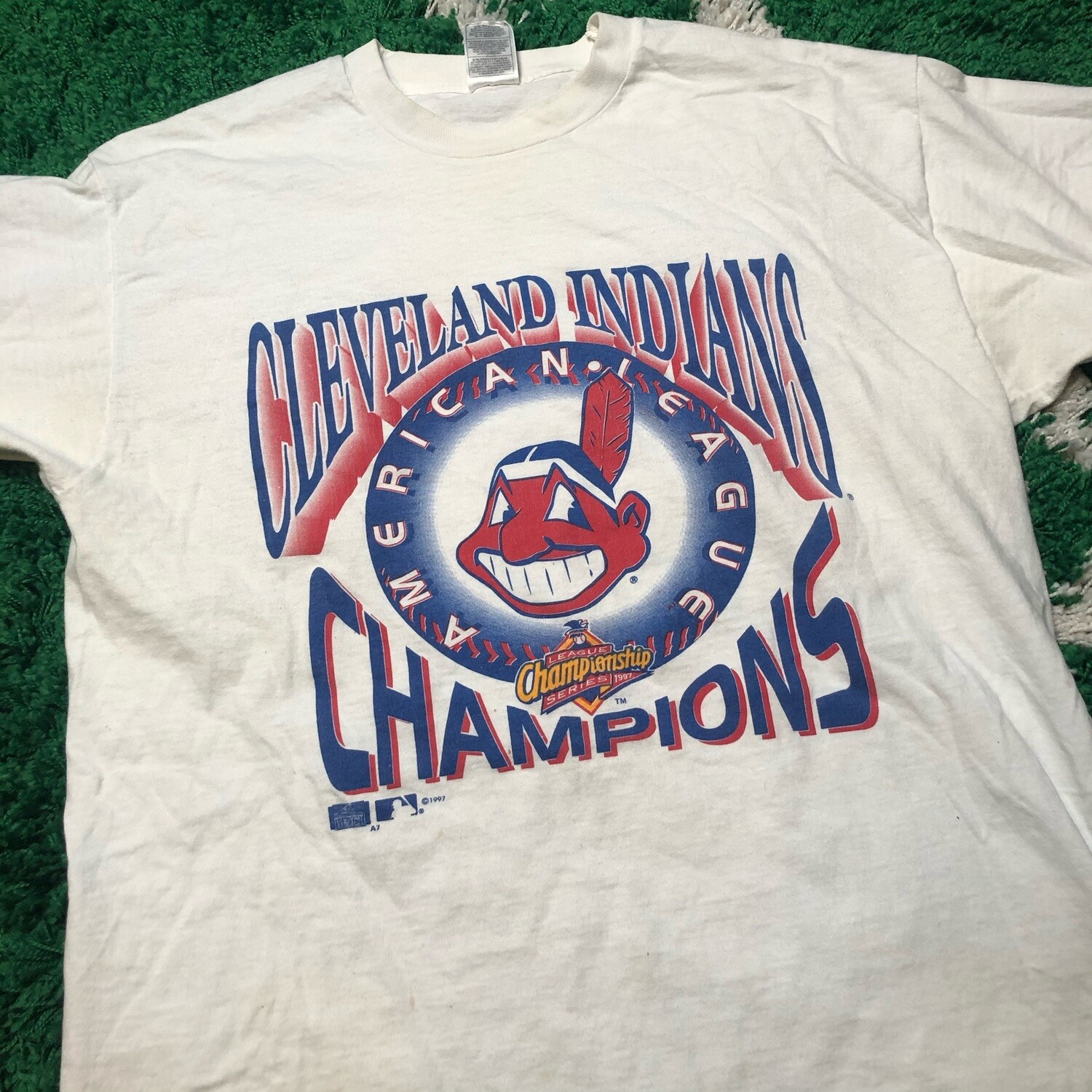 Cleveland Indians Champions Tee Size XL