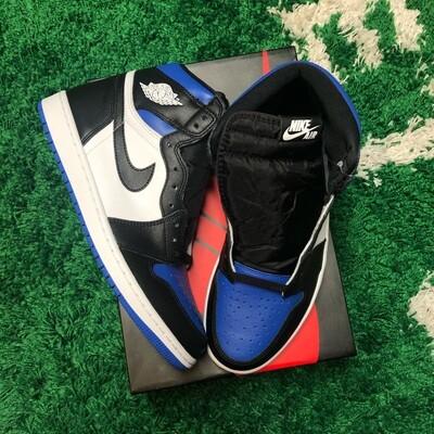 Nike Jordan 1 Retro High Royal Toe Size 11