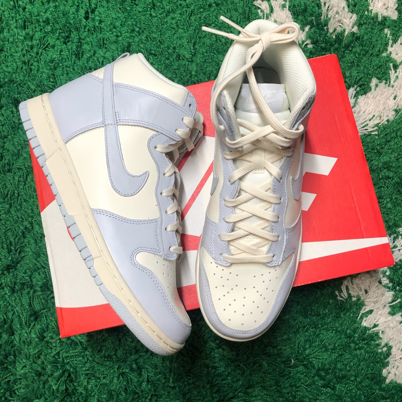 Nike Dunk High Sail Football Grey Size 9(w) / 7.5 Mens
