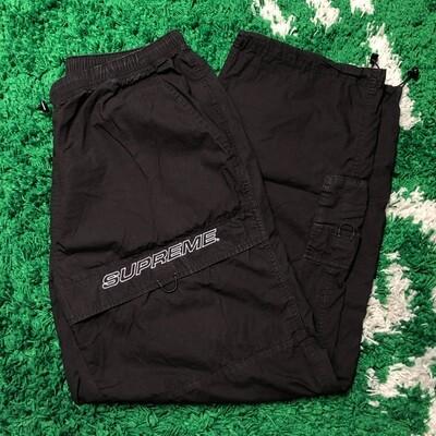 Supreme Cotton Cinch Pant Black Size Large