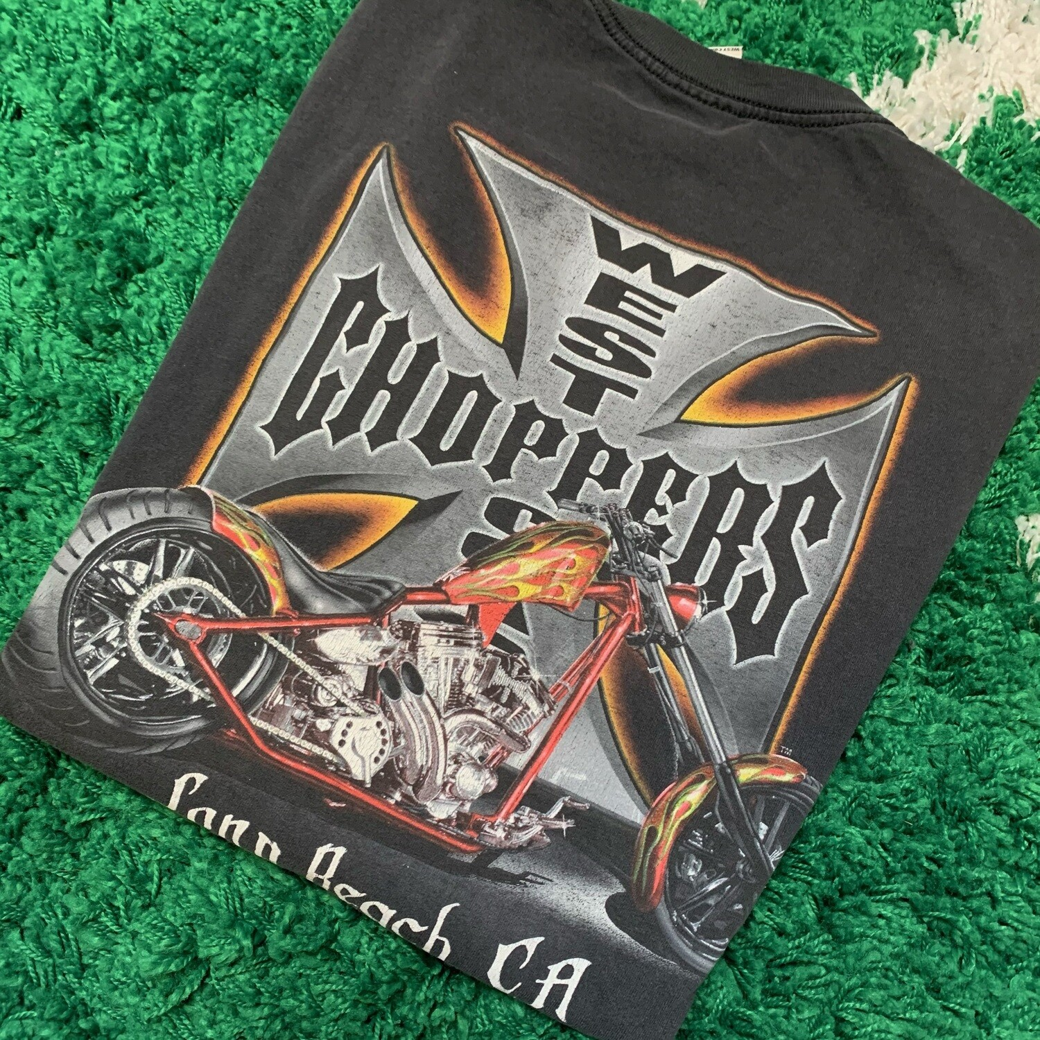 West Coast Choppers Long Beach Shirt Size XL