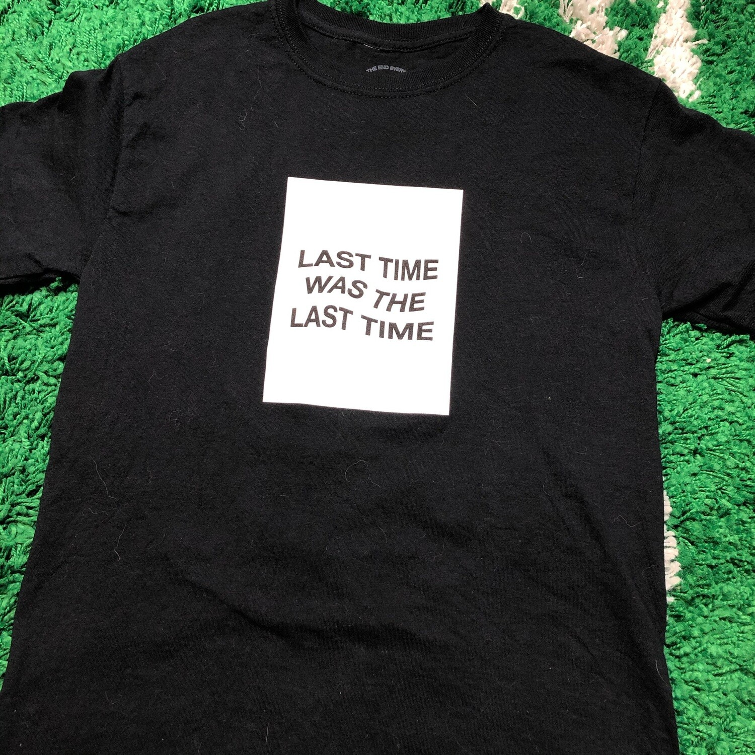 """Anti Social Social Club """"Last time was the Last Time"""" Shirt Size Small"""