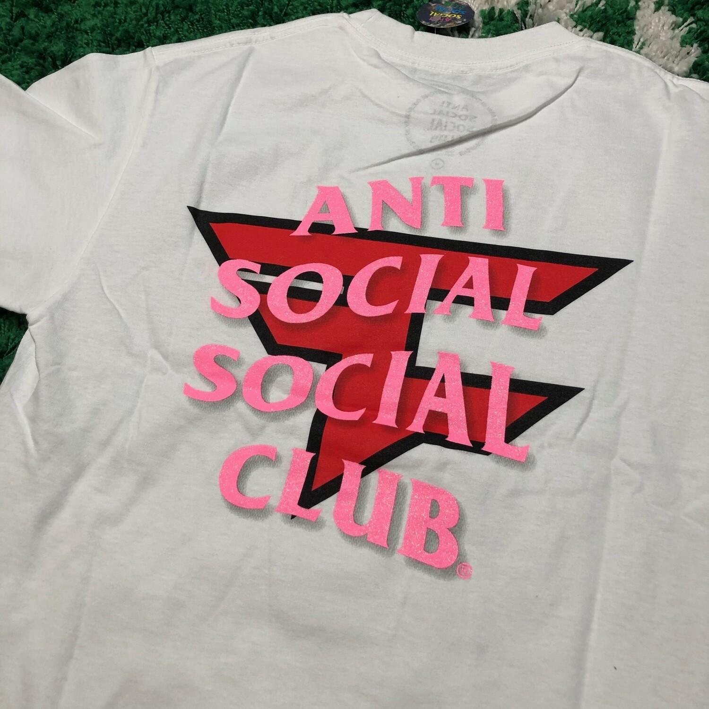 Anti Social Social Club Faze Tee White Size Medium