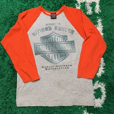 Harley-Davidson Spirit of Eagle 3Q Sleeve Size XL