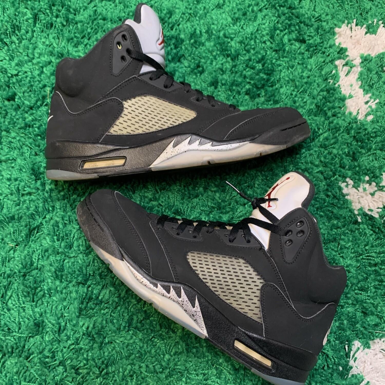 Air Jordan 5 Retro Black Metallic (2016) Size 13