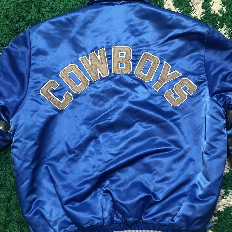 Dallas Cowboys Satin Jacket Size Medium