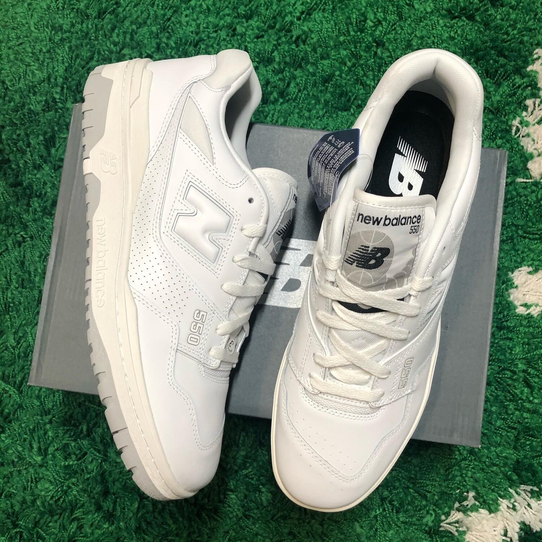 New Balance 550 White Grey Size 12