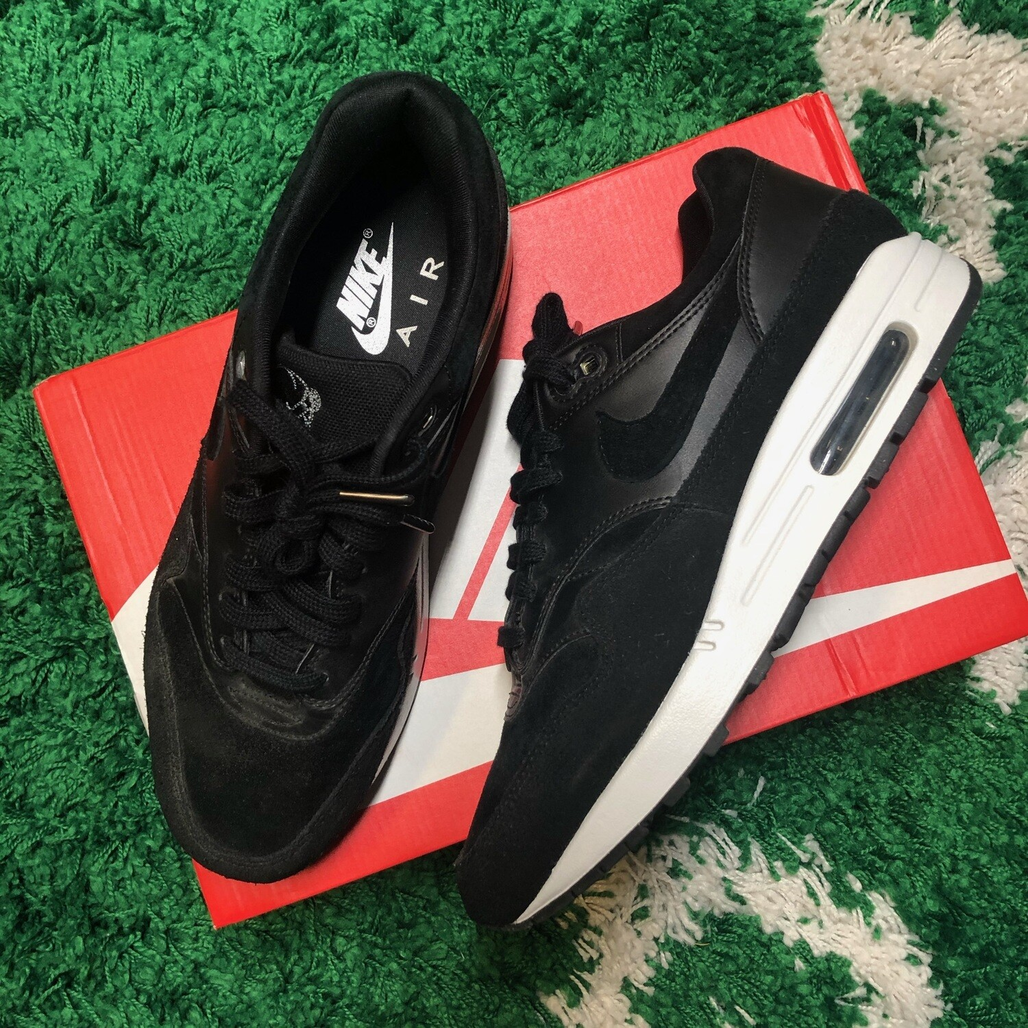 Nike Air Max 1 Rebel Skulls Size 9