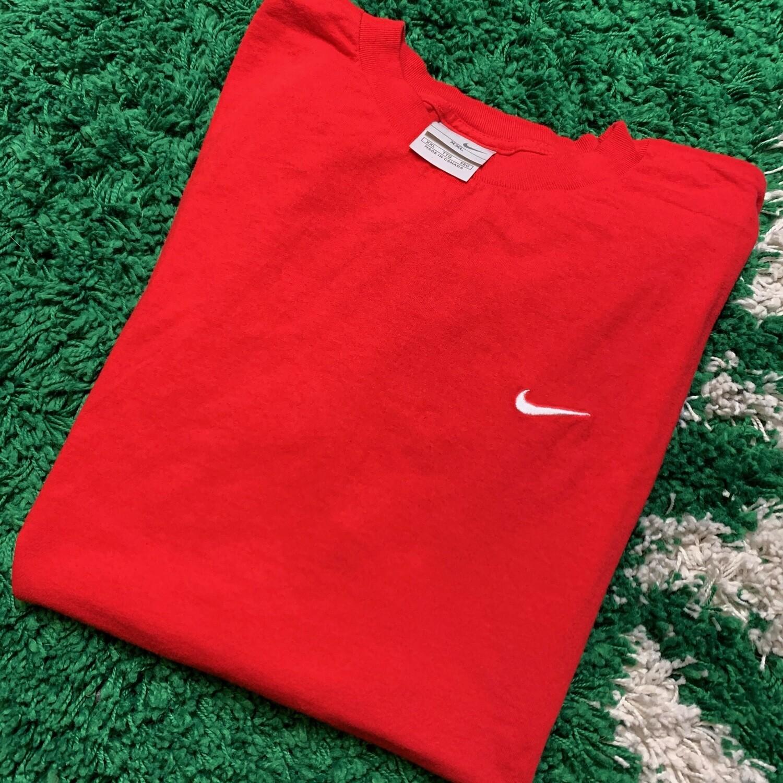 Nike Pocket Swoosh Tee Red Size XXL