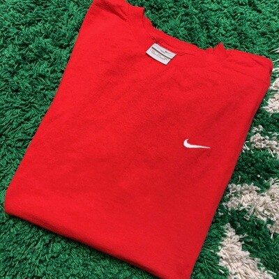 Nike Pocket Swoosh Tee Red Size XXL