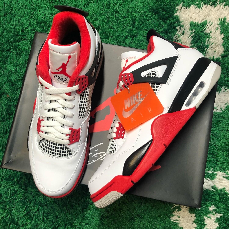 Air Jordan 4 Fire Red Size 12