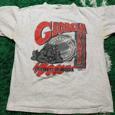 University of Georgia Tee Size Large