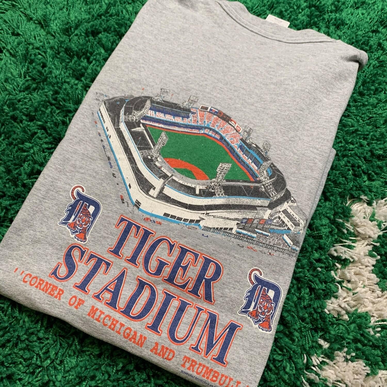 Detroit Tigers Tiger Stadium Tee Size XL