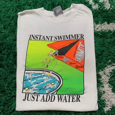 Instant Swimmer Just add Water Tee Size XL