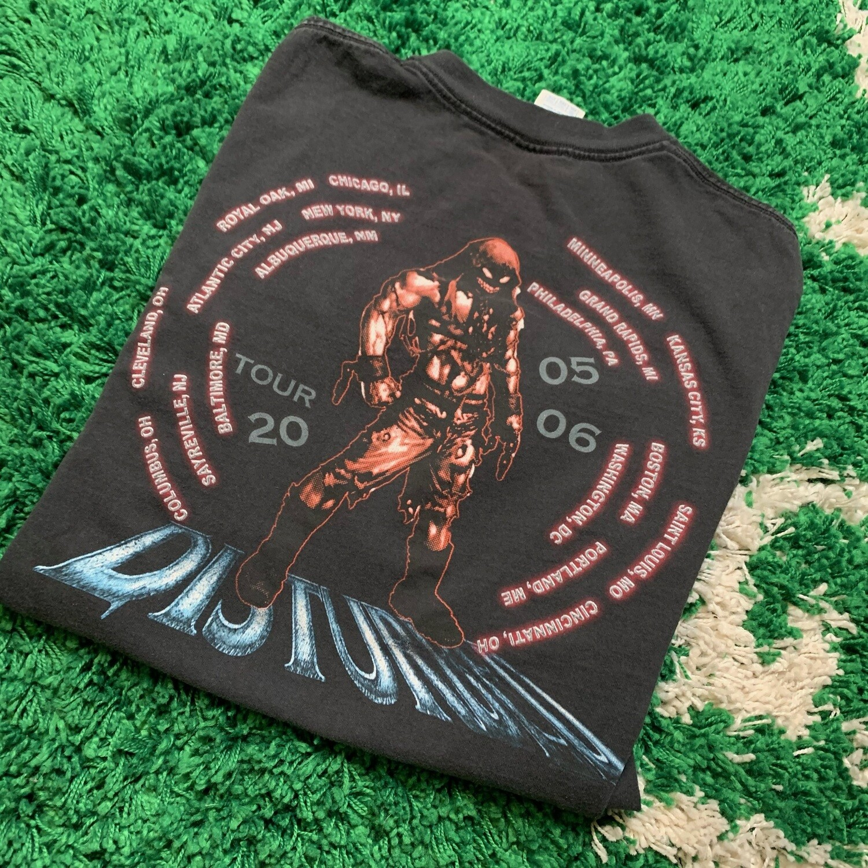 Disturbed 05/06 Tour Size XXL