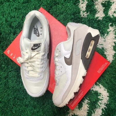 Nike Air Max 90 Sail Baroque Brown Size 9.5