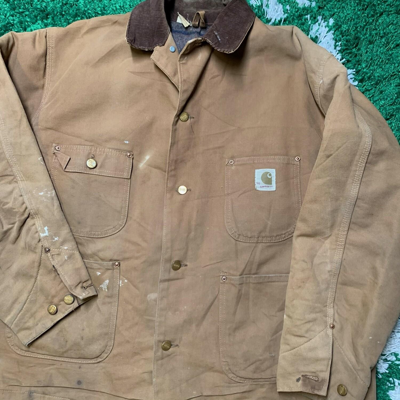 Vintage Carhartt Work Jacket Size XL