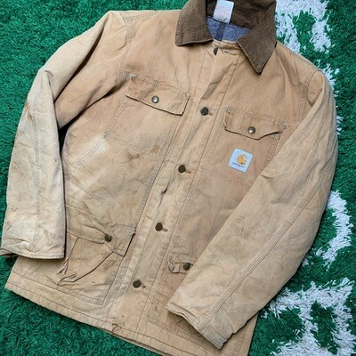 Vintage Carhartt Work Jacket Size Small